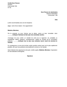 lettre de demission agent commercial independant Lettre de demission agent commercial independant   Modèle de lettre lettre de demission agent commercial independant