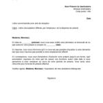 Modèle lettre démission cdi sans préavis