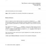 Exemple lettre de demission avec conges payes