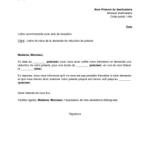 Modele lettre demission sans preavis