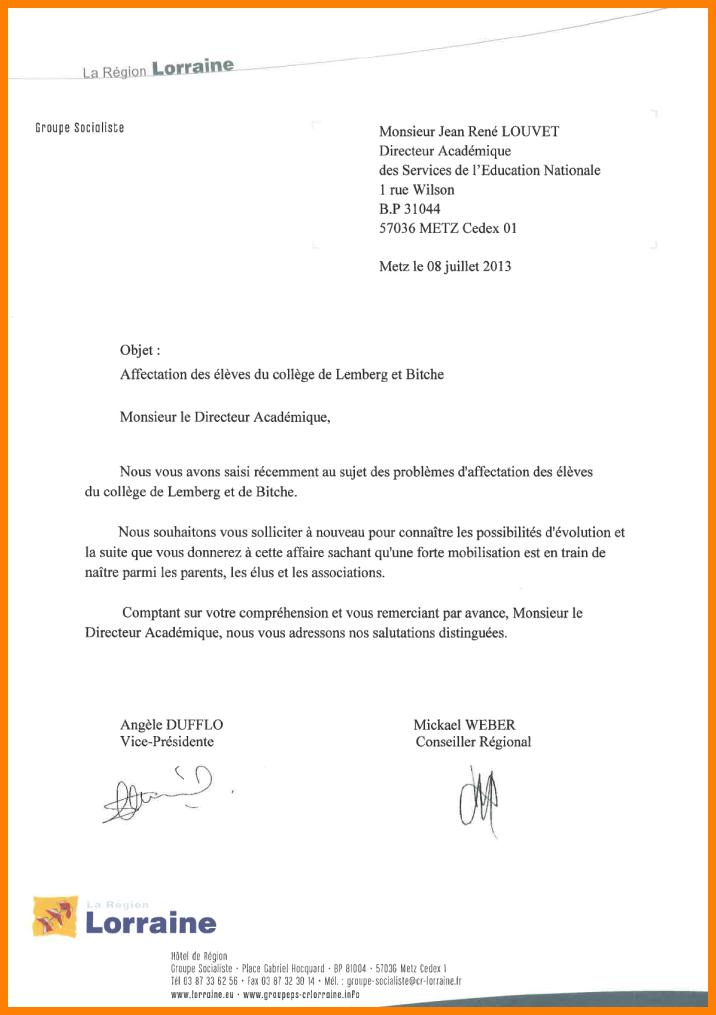 lettre de dmission