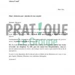 Lettre de démission cdi avec préavis pdf