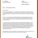 Lettre de demission agent de securite