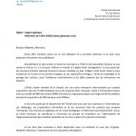 Lettre de motivation francais exemple