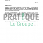 Lettre de motivation restauration