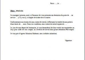 Lettre De Demission Sans Preavis Remise En Main Propre Pdf Translate