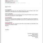 Lettre motivation modele