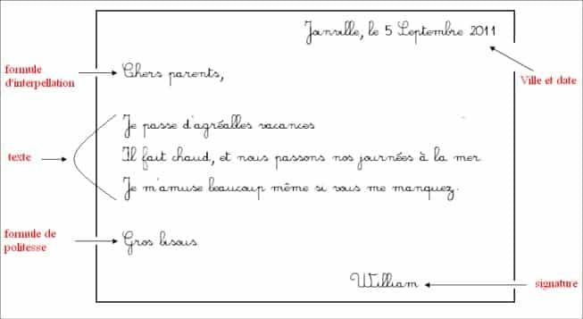 r u00e9diger une lettre