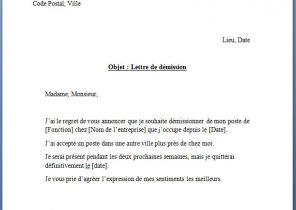 lettre de demission infirmiere cdi Lettre de démission Archives   Page 3 sur 15   Modèle de lettre lettre de demission infirmiere cdi