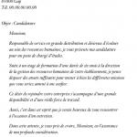 Exemple d une lettre de motivation pour un emploi