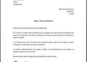 Lettre de démission Archives   Page 3 sur 15   Modèle de lettre
