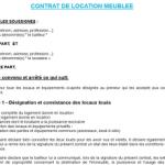 Résiliation contrat de location appartement