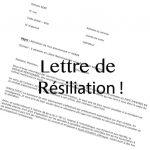 Comment faire une lettre de résiliation de contrat