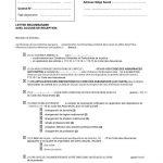 Courrier de résiliation de contrat d assurance