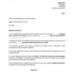 Exemple de lettre de résiliation de contrat d abonnement