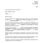 Resiliation assurance auto lettre type