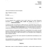 Exemple de lettre de résiliation de contrat d assurance auto