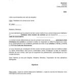 Lettre type résiliation contrat assurance