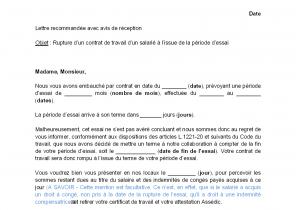 f113d608825 Modèle de lettre pour résiliation de contrat - Modèle de lettre
