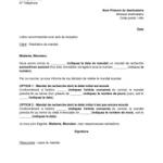 Modele lettre retractation