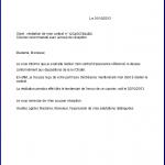 Exemple de lettre de résiliation
