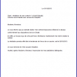 Modèle de lettre de résiliation d assurance auto