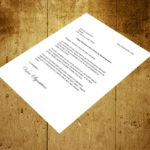 Demenagement lettre de preavis