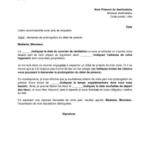 Exemple de lettre de préavis de logement