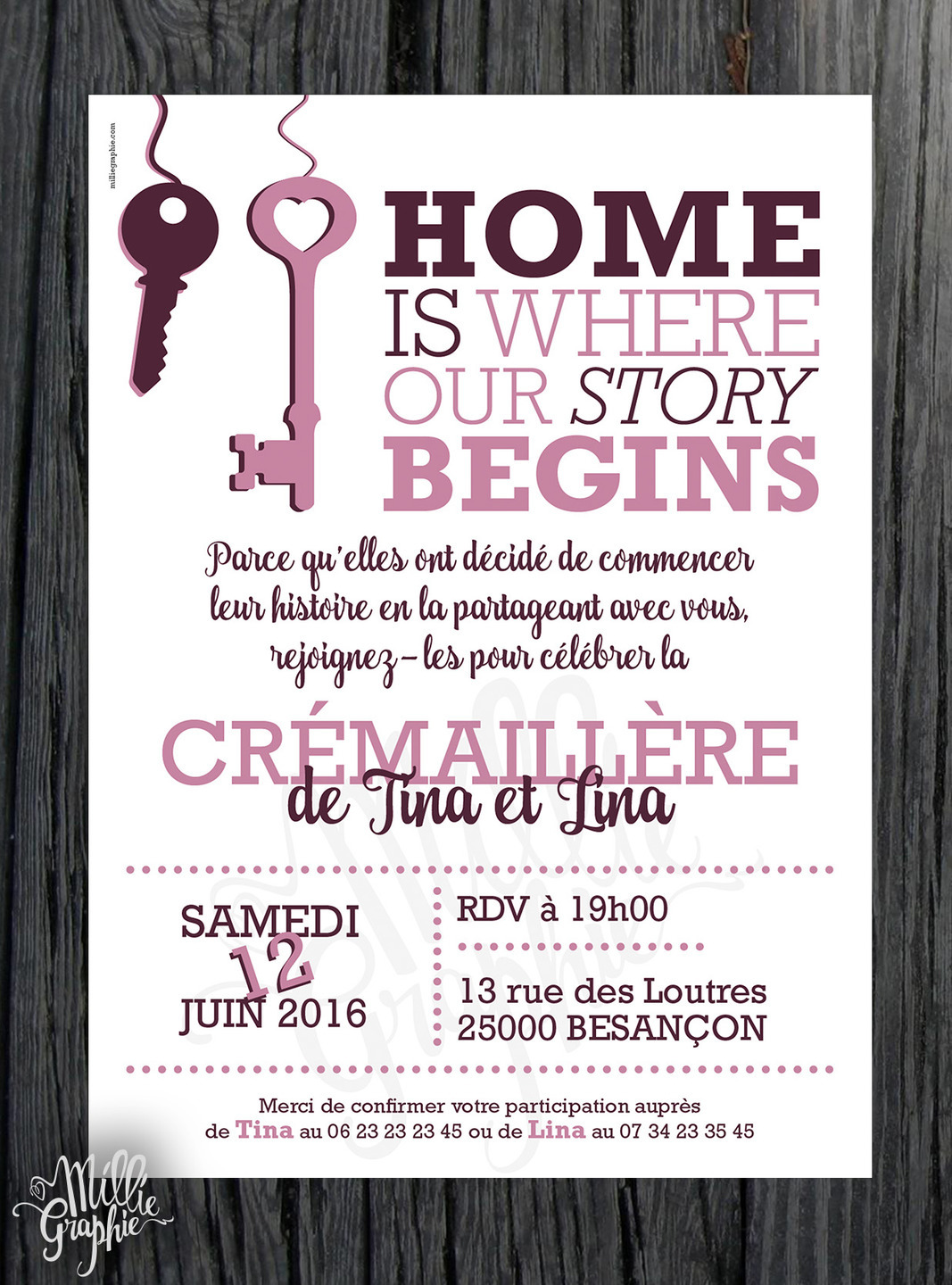 faire invitation