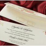 Billet d invitation mariage