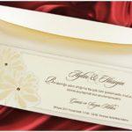 Faire part mariage ivoire