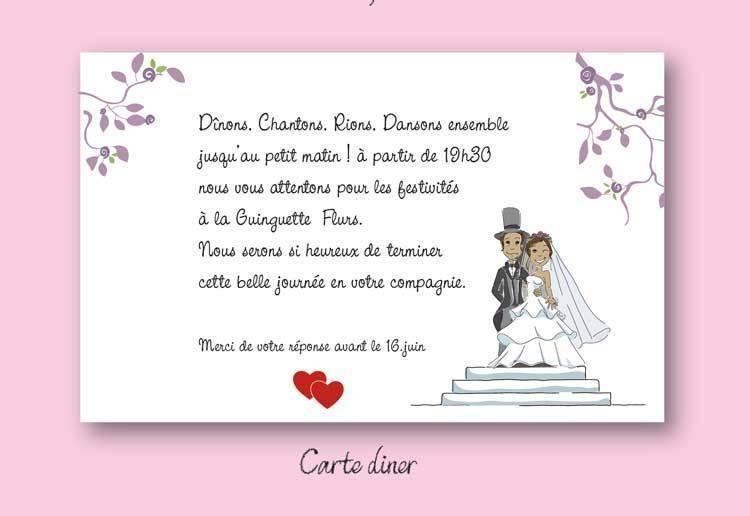 faire part et invitation mariage