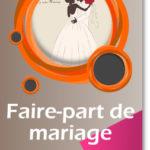 Créer faire part mariage en ligne