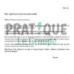 Exemple lettre de préavis appartement