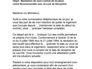 lettre de pr avis pour quitter un appartement mod le de lettre. Black Bedroom Furniture Sets. Home Design Ideas