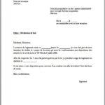Modele de lettre de préavis logement 3 mois