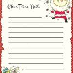 Recevoir lettre pere noel