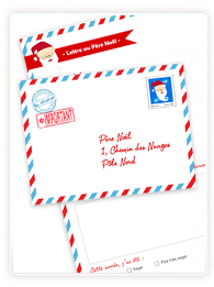 Enveloppe Pour Le Pere Noel A Imprimer Modèle De Lettre
