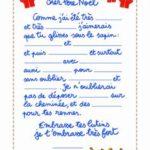 Exemple lettre au pere noel adulte