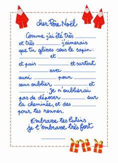 exemple de lettre du pere noel Exemple De Lettre Au Pere Noel | passieophetplatteland exemple de lettre du pere noel