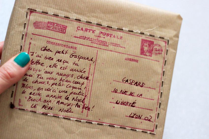 lettre cadeau noel