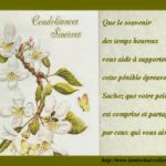 Texte sincere condoleance