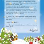 Recevoir une lettre du pere noel