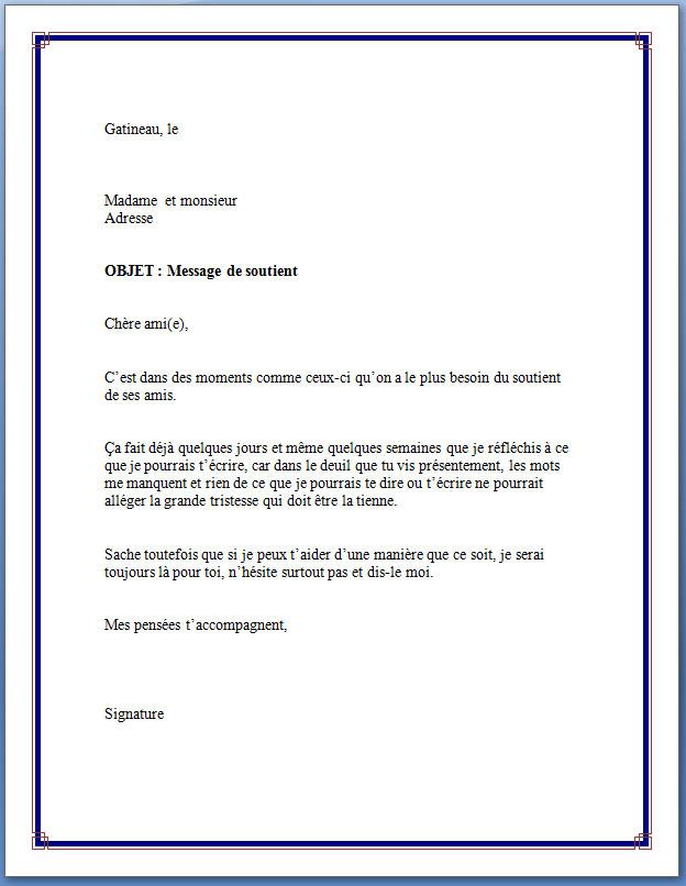 Message de condoléances Archives   Page 11 sur 25   Modèle de lettre