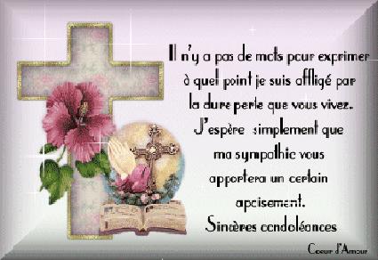 Mots de condoléances pour une amie - Modèle de lettre