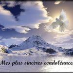 Sincères condoléances amitiés