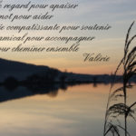 Message deuil ami