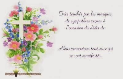 Message de condoleances en francais   Modèle de lettre
