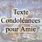 Condoléances pour un ami décédé